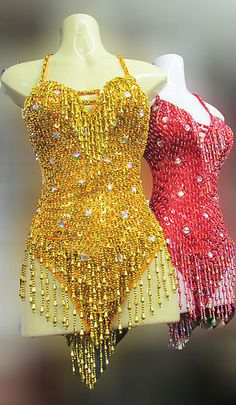 Da NeeNa L025 Party Latin Dance Costume Drag Showgirl Leotard XS XL | eBay