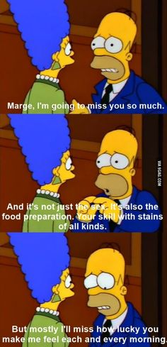 One of these scenes where I realise how awesome The Simpsons is.