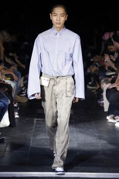 Y/Project Spring 2016 Menswear Fashion Show: Complete Collection - Style.com