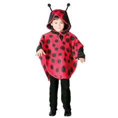 Lieveheersbeestje kostuum kind