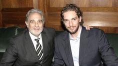 Where does Bulls' Pau Gasol go to escape: The opera 16 Love, Love Him, Placido Domingo, New Life, Opera, Free Agent, Guys, Death