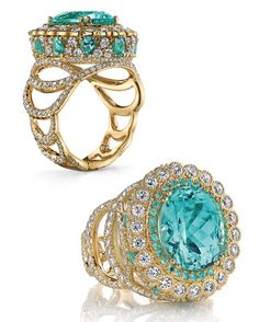The exclusiveness of its legendary find makes Paraiba a real treasure ~ Erica Courtney.
