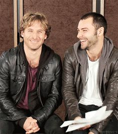 """Audition as Fili April 27, 2011  """"I did the audition with Aidan. And the great thing with Aidan is that he and I.. As soon as we met we got along. Which I knew was gonna be important for the characters but it was nice to know that I didn't have to fake it. And I think he probably felt the same way."""" Dean O'Gorman"""