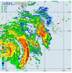 Taiwán afectado por las extensas bandas exteriores del Tifón #Usagi Lluvias intensas/Tormentas