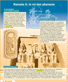 Exhibit: Ramses II, King of the Pharaohs - Mary Martinez French Class, French Lessons, Ancient Egypt, Ancient History, History Of Wine, Medical Mnemonics, Learning Process, Learn French, Ancient Civilizations
