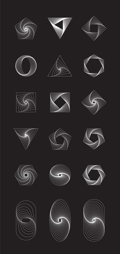 Twisted vector shapes