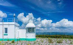 The teeny weeny Berry Head lighthouse, Brixham, Devon