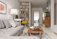 """stylish-interior-design: """" A Midcentury Inspired Apartment with Scandinavian Tendencies House Design, Apartment Design, Apartment Interior, Living Room Scandinavian, House Interior, Apartment Inspiration, Living Room Inspiration, Stylish Interior Design, Scandinavian Design Living Room"""