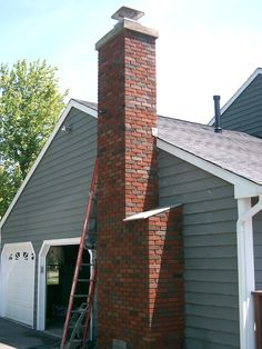 Brick Chimney Chimney Cap Chimneys Cny Chimney