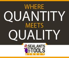 We have a wide array of sealant products and more! Visit http://sealantsandtoolsdirect.co.uk/ today!