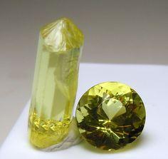 Fluorapatite, crystal and gemstone.