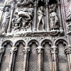 #sanbartolome #larioja #logroño #patrimoniohistorico #patrimoniocultural #patrimonio #patrimoine #beautiful #españa #spain #romanico #beautiful #love #loveit #lovely #follow #followme #iglesia #otoño #november #noviembre#iglesiasanbartolome