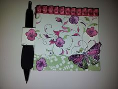 Audreys Kreative Welt:  /Post it +Stift-Halter