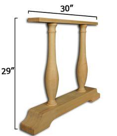 Potential base for DIY farm table, from Osborne