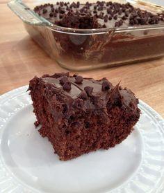 Egg-Free, Dairy-Free Chocolate Cake - Andrea Dekker