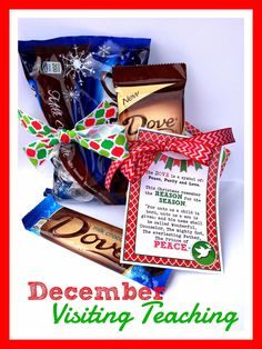 December Visiting Teaching Handout. From Marci Coombs Blog