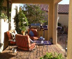 My morning backyard...