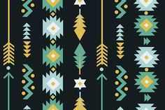 Ad: Tribal aztec pattern (Vector + JPG) by Illustration studio on Tribal aztec geometric Digital seamless pattern hand drawn collection. - Perfect for shower invites, invitation cards, wedding cards, Aztec Patterns, Graphic Patterns, Graphic Design, Vector Pattern, Pattern Art, Aztec Pattern Wallpaper, Duo Tone, Aztec Art, Party Favor Tags