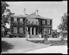 Mount Airy,houses,estates,stairways,Warsaw,VA,Virginia,Architecture,South,c1930