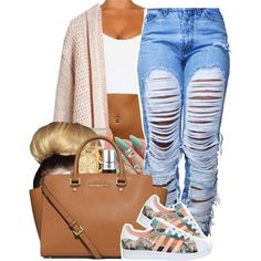 3:O9 PM O7 / 12/ 2O15 MICHAEL KORS + ADIDAS . by vintagetrillbrat on Polyvore featuring Topshop, adidas, MICHAEL Michael Kors, Michael Kors and MAC Cosmetics