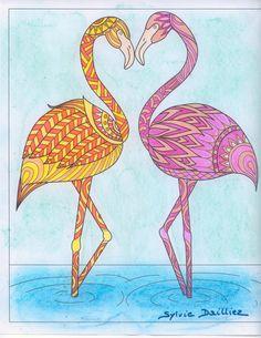 Auteur: Sylvie Dailliez - Revue: Coloriage Évasion n°11 - Éditions MEGASTAR® France. My Drawings, Colorful, France, Art, Coloring Pages, Animaux, Art Background, Kunst, Gcse Art