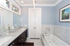 Bathroom Door Frustration and Solution (Turn Bi-Fold Doors Into French Doors) - Addicted 2 Decorating®