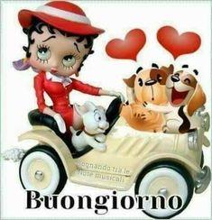Good Morning Good Night, Good Morning Quotes, Betty Boop, Italian Memes, Emoji, Mickey Mouse, Disney Characters, Fictional Characters, Empanadas