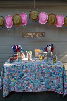 rodeo princess pony party sweets stable