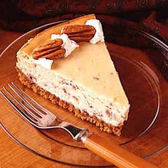 Praline Cheesecake (Substitute: Bob's Red Mill All-Purpose GF Baking Flour & GF Graham Crackers)
