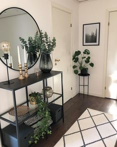 38 ideas home living room design plants for 2019 Home Living Room, Living Room Designs, Living Room Decor, Bedroom Decor, Dining Room, Small Apartment Living, Room Interior, Home Interior Design, Flat Interior