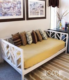 Ana White | Build a Stacy Daybed | Free and Easy DIY Project and Furniture Plans