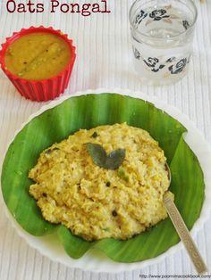 Poornima's Cook Book: Oats Pongal