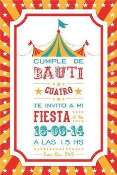 Resultado de imagen para invitacion de circo gratis Diy Carnival Games, Kids Carnival, Carnival Birthday Parties, Circus Birthday, Boy Birthday, Party Kit, Baby Party, State Fair Party, Circo Do Mickey