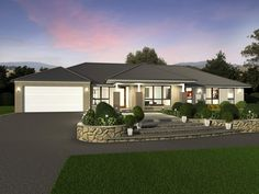 By offering a balanced & well considered layout, Lyndhurst delivers well defined living & accommodation areas without sacrificing space. View floor plans now. Family House Plans, Best House Plans, House Floor Plans, Contemporary House Plans, Modern House Plans, Single Storey House Plans, Single Floor House Design, Mcdonald Jones Homes, House Plans South Africa