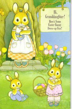 Hi Granddaughter -Easter