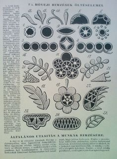 Tambour Embroidery, Hungarian Embroidery, Folk Embroidery, Hand Embroidery Patterns, Vintage Embroidery, Embroidery Stitches, Victorian Fabric Patterns, Cut Work, Freeform Crochet