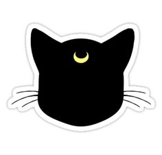 """""""Meow? Luna """" Stickers by agShop 