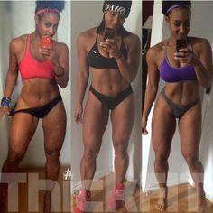 Black lesbians workout
