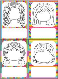 La porte de septembre Preschool Body Theme, Emotions Preschool, Preschool Colors, Drawing For Kids, Painting For Kids, Art For Kids, Kids Background, Kindergarten First Day, Activity Sheets