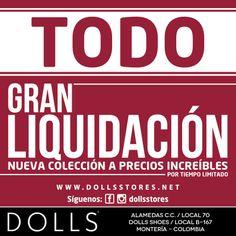 GRAN LIQUIDACIÓN .... ALMACÉN DOLLS / ALAMEDAS CENTRO COMERCIAL... VISÍTENOS !!!