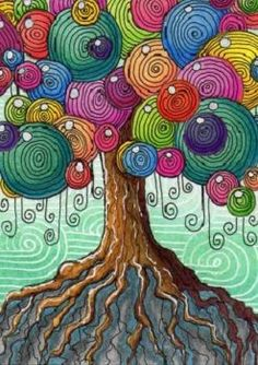 Pin by 🌊 🌻 tilly 🌻 🌊 on :::art::: in 2019 arte caprichoso, pinturas de Kunstjournal Inspiration, Art Journal Inspiration, Art Fantaisiste, Wal Art, Arte Fashion, Arte Pop, Zentangle Patterns, Zentangles, Whimsical Art