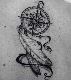 Compass dream catcher