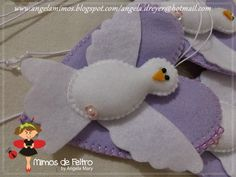 Mimos de Feltro by Angela Mary: ==Divino Espirito Santo