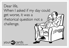 #rhetorical lol how many times I've said that and got my answer!