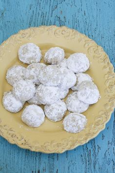 Lemon wedding cookies are a fresh springtime riff on the Mexican wedding cookie, Russian tea cake or snowball.