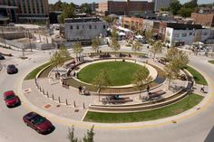 Traffic Roundabout: Award-Winning Civic Space