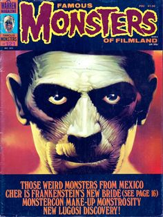 famous monsters of filmland - Google Search