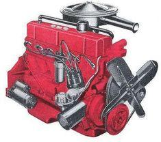 1965 chevrolet pickup inline 6 cylinder engine | L6 Truck Engine Illustrations