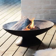 Cast Iron Fire Bowl - Garden Furniture - Furniture Cast Iron Fire Bowl in stock Cast Iron Garden Furniture, Fire Pit Furniture, Outdoor Furniture, Fire Pit Bowl, Fire Bowls, Fire Pits, Painted Bedroom Furniture, Wooden Pallet Furniture, Outdoor Fire