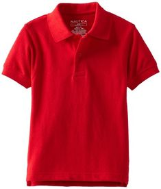 Boys' Uniform Short Sleeve Pique Polo * Find out more about the great product at the image link.(It is Amazon affiliate link) #BoysClothing